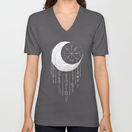 Moon dreaming Unisex V-Neck
