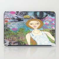 belle iPad Cases featuring Belle by inara77