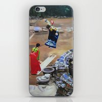 korean iPhone & iPod Skins featuring Korean Seesaw by Robert S. Lee Art
