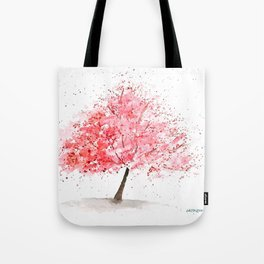 Kwanzan Cherry Tree Tote Bag