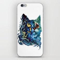 cat #4 iPhone & iPod Skin