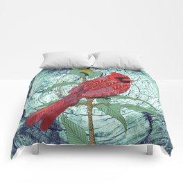 Virginia Cardinal Comforters