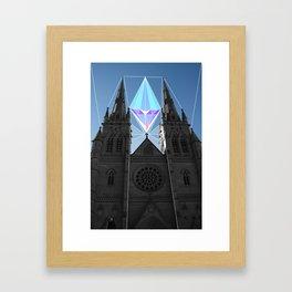 St Mary's Framed Art Print