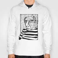 pablo picasso Hoodies featuring Pablo Picasso by Benson Koo