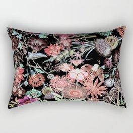 Floral Garden Rectangular Pillow