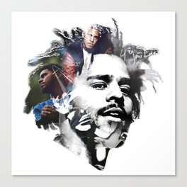 J. Cole Canvas Print