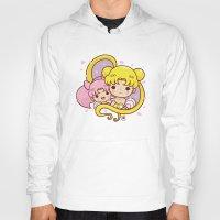 sailormoon Hoodies featuring Sailor Moon Princesses by Azul Piñeiro