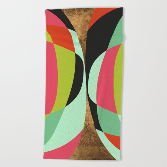 The Best Of Two Worlds Beach Towel