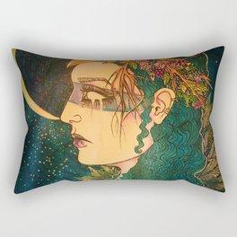 Morrigan: The Phantom Queen Rectangular Pillow