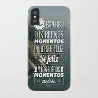 quotes iPhone & iPod Cases featuring Quotes by alesantanderp