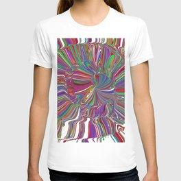 spiral tube T-shirt