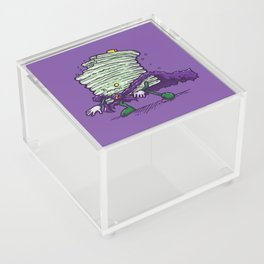 Captain Zombiecake Acrylic Box