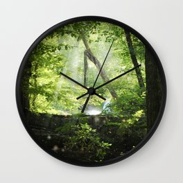 Late Summer Secrets Wall Clock