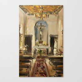 Private Chapel Canvas Print