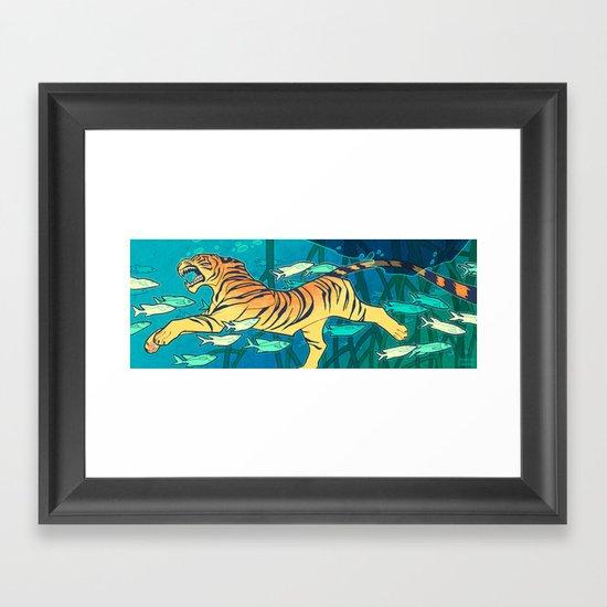 Samudraban Framed Art Print