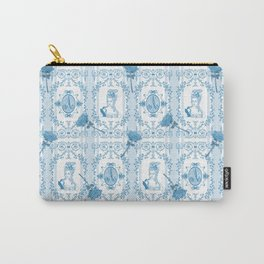 Marie-Antoinette Monogram (Aqua) Carry-All Pouch