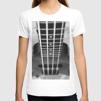 bass T-shirts featuring bass guitar by Falko Follert Art-FF77