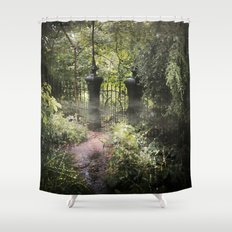 A Secret Garden Shower Curtain