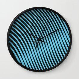 Warped Lines Wall Clock