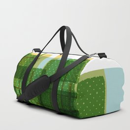 Abstract Geometric Dots Duffle Bag