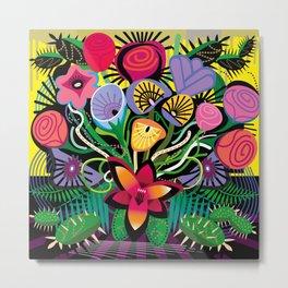 Cactus Jungle Metal Print