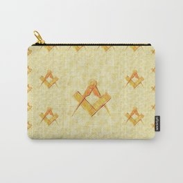 Freemason, Mason, Masonic, Lodge, Symbol, Setsquare, Compass Carry-All Pouch