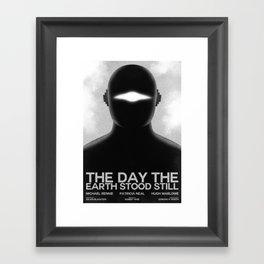 The Day the Earth Stood Still Framed Art Print