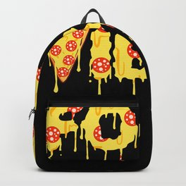 Good Vibes Pizza Cheesy Pepperoni Tee Backpack