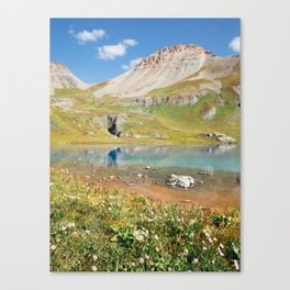 Ice Lake, Colorado Canvas Print