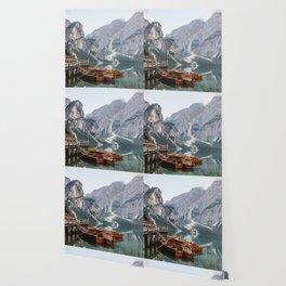 Day at the Mountain Lake Wallpaper
