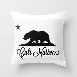 Cali Native Throw Pillow
