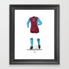Aston Villa 1981/82 - European Cup Winners  Framed Art Print