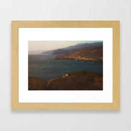 Lookout Spot Framed Art Print
