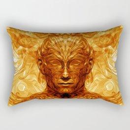 Shamannic Illumination Rectangular Pillow