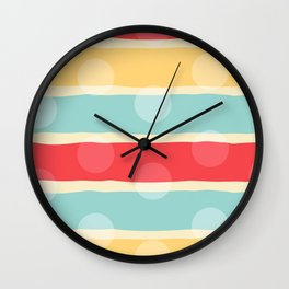 Dreaming lines Wall Clock