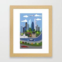 City of London Framed Art Print