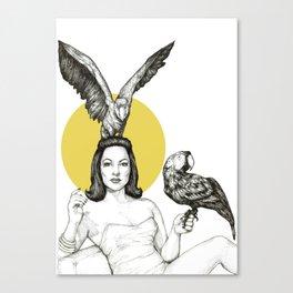 Yvette Dare Canvas Print