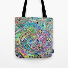 Doodle with Bomomo Overlay 1 Tote Bag
