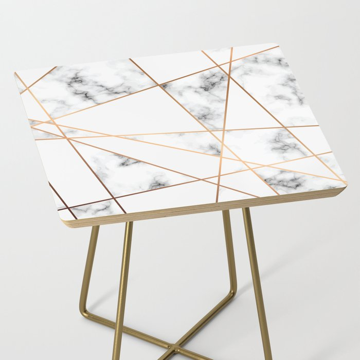 Marble Geometry 054 Side Table
