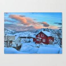 A Ridiculously Beautiful Sky Canvas Print