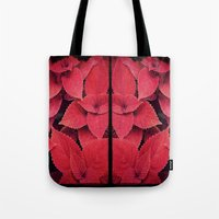 moulin rouge Tote Bags featuring Rouge by KunstFabrik_StaticMovement Manu Jobst