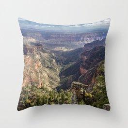 How Far Does it Go? Throw Pillow