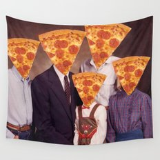 Pizza People Wall Tapestry