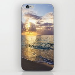 Bubble Sunset Cayman Islands iPhone Skin