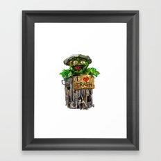 Trashy Framed Art Print
