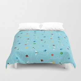Flight of the Insects Duvet Cover