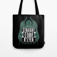 Straight Outta R'lyeh Tote Bag