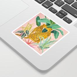 Cheetah Crush Sticker