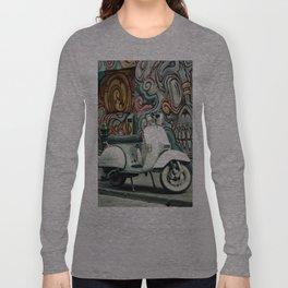 Vespa Chariot Long Sleeve T-shirt
