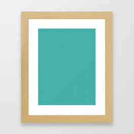 Verdigris Light Pixel Dust Framed Art Print
